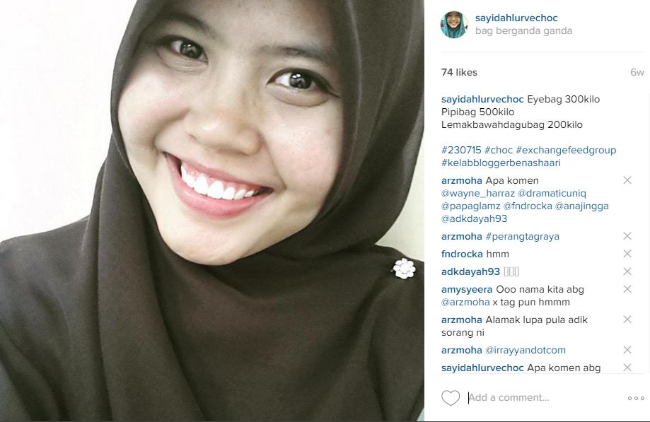 muka aku seiras Najwa Latif?