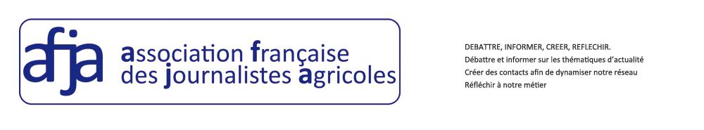 AFJA - Les journalistes de l'agriculture et de l'alimentation