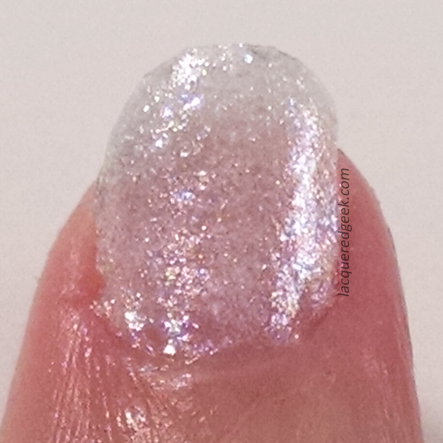 Digital Nails: Special Snowflake swatch