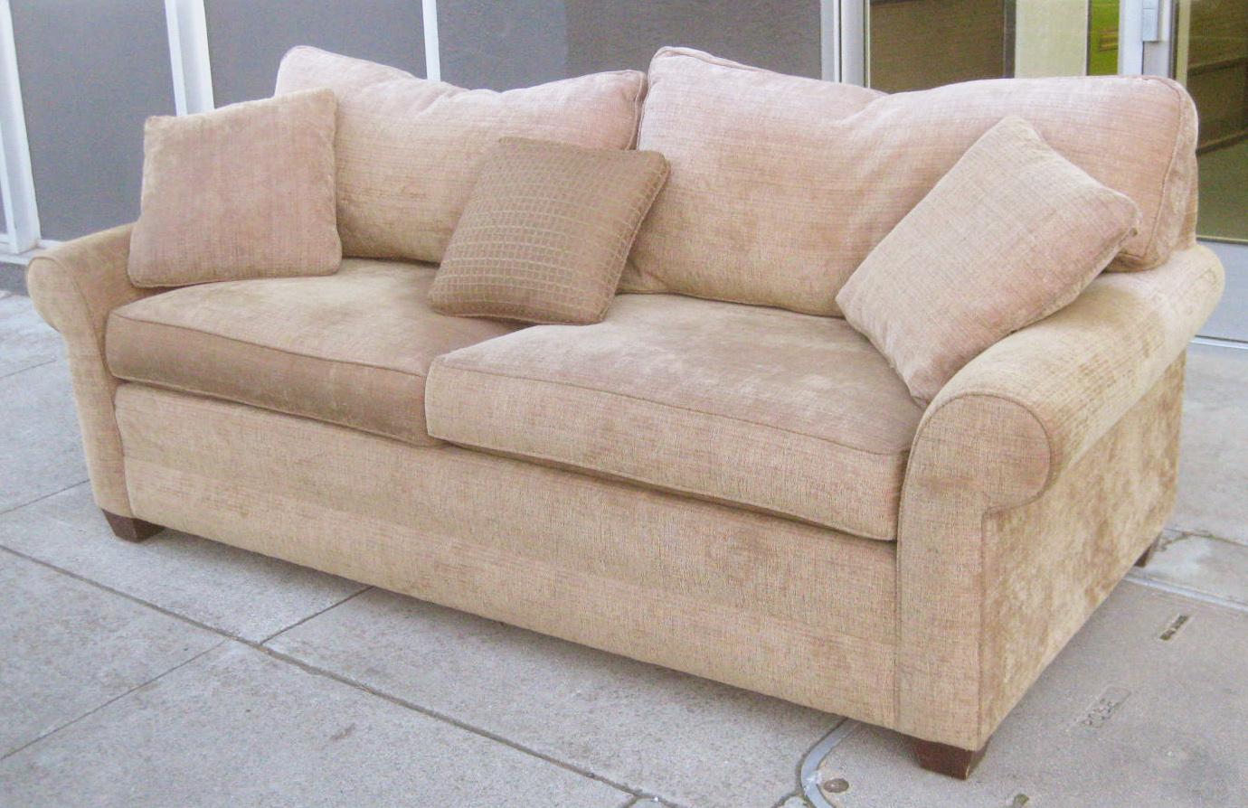 Uhuru Furniture Collectibles Sold Ethan Allen Good Quality Sofa 225