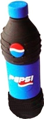Microware Pepsi Bottle Shape 16 GB Pen Drive