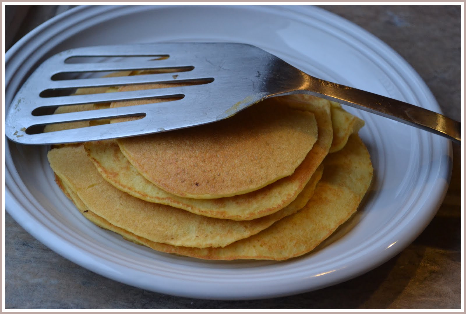 Low Carb/High Protein Coconut Flour Pancakes