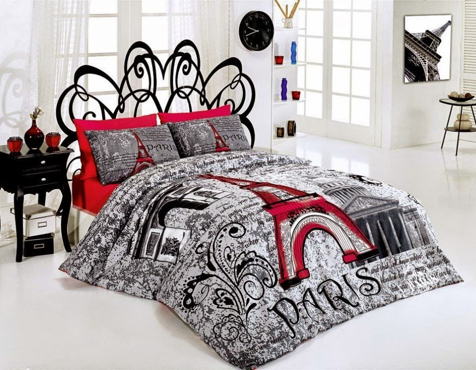 Bedroom decor ideas and designs top ten paris themed for Bedroom decor sets