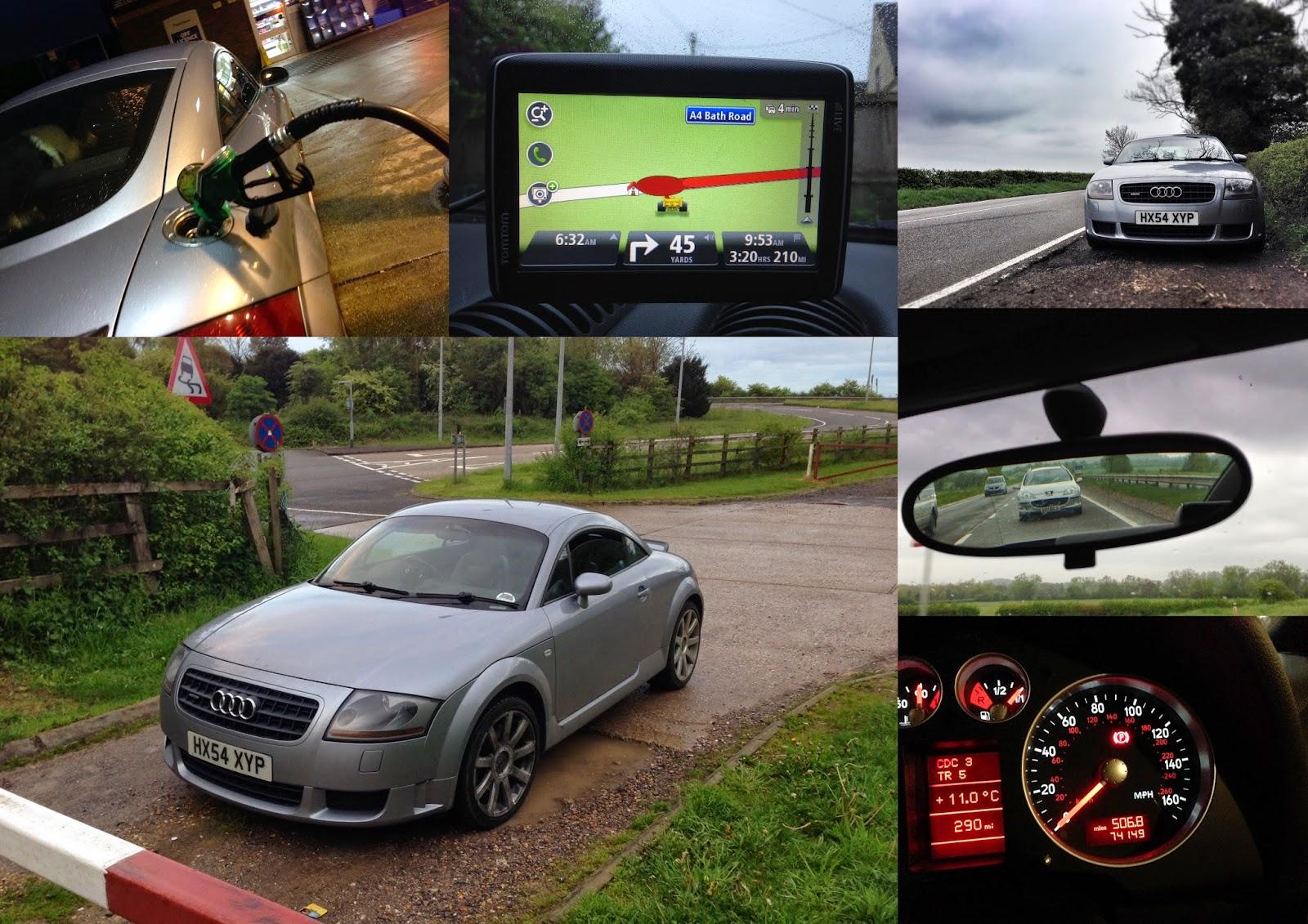 Audi TT 3.2 V6 road trip