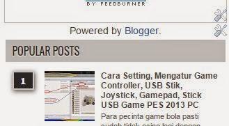 Menghilangkan Powered by Bogger di Sidebar, Hapus Diberdayakan Oleh Blogger