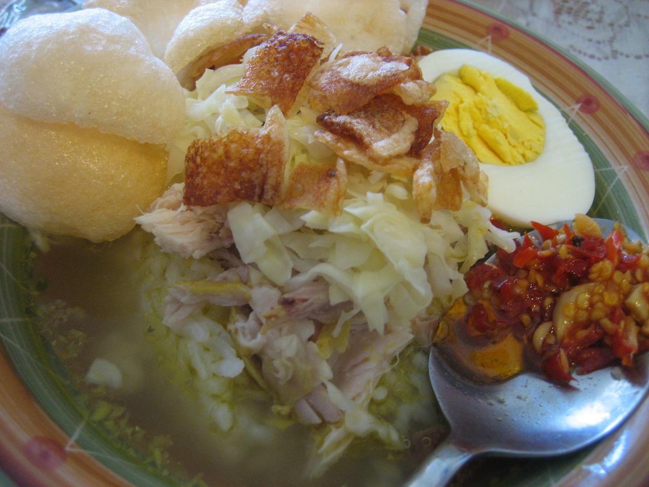 Resep soto ayam resep cara membuat soto ayam lamongan