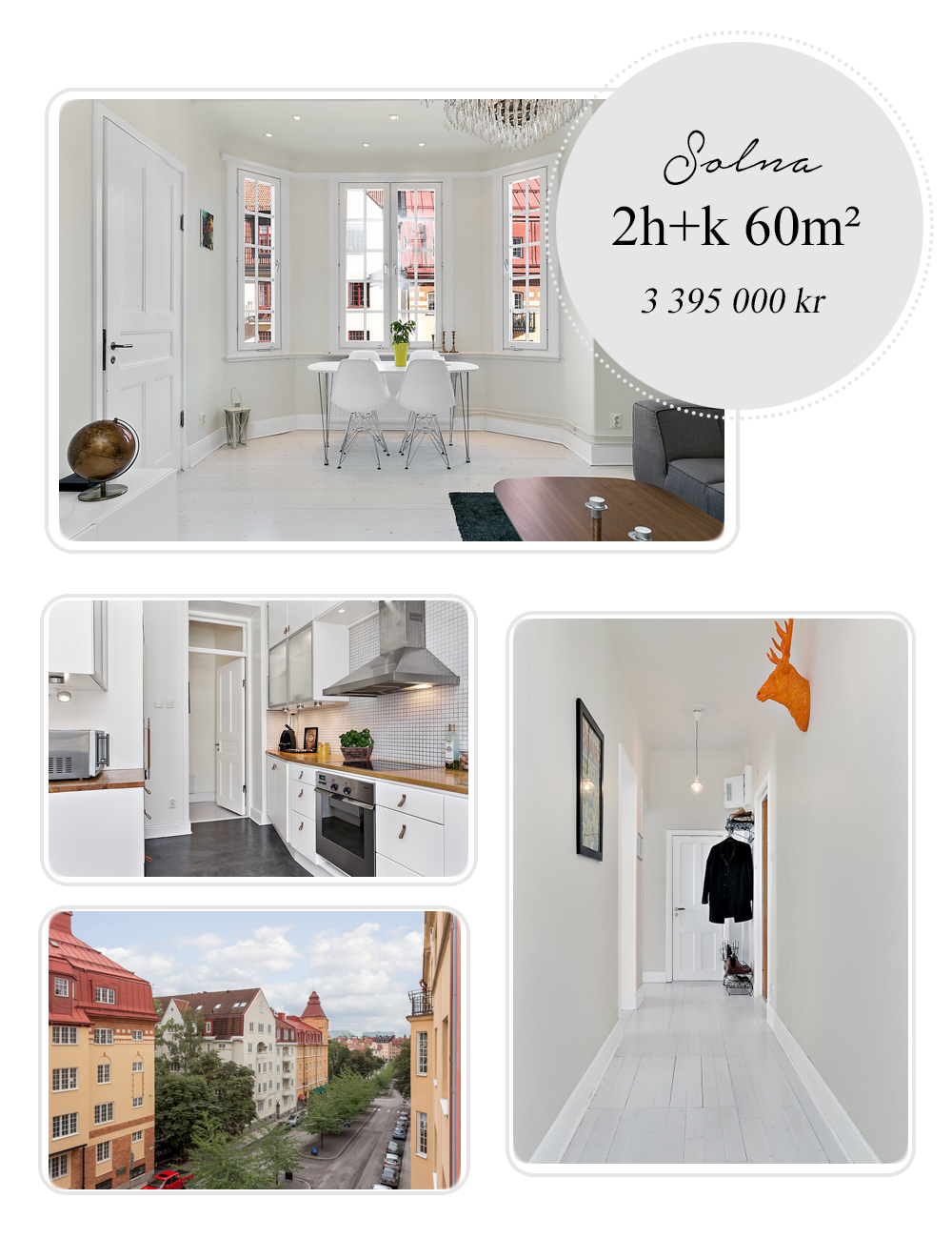 Apartment in Solna Stockholm