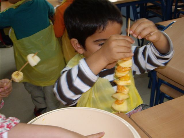Aventura diminuta el taller de cocina en educaci n infantil - Talleres de cocina infantil ...