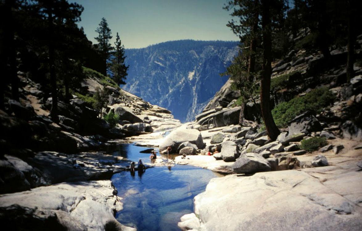 foto cachoeira bridalveil EUA