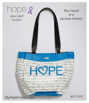 Miche Hope Script Demi Shell for Autism
