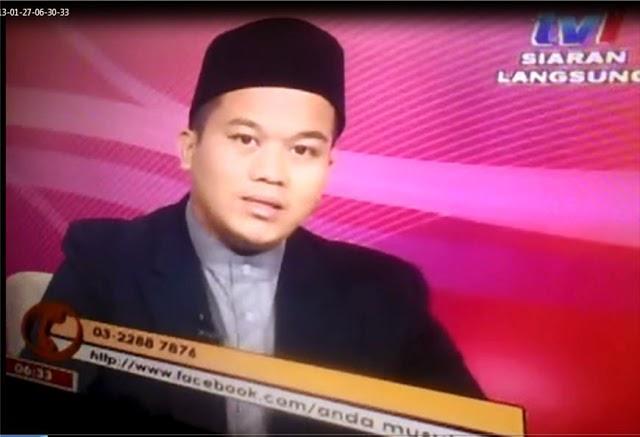Ustaz Azizul di RTM 1 Anda Musykil