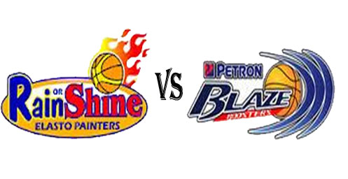Watch PBA Rain or Shine vs Petron Blaze Boosters - November 14