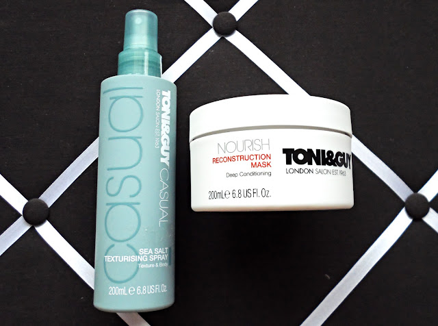 toni&guy, haircare, haul, sea salt texturising spray, reconstruction mask, priceline, twoplicates, melbourne, beauty, bloggers,