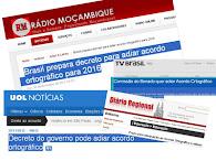 = BRASIL ADIOU  O ACORDO ORTOGRÁFICO =