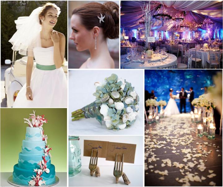 Wedding Favor Ideas Little Mermaid: Simply Inspirational.: The Little Mermaid Inspiration Board