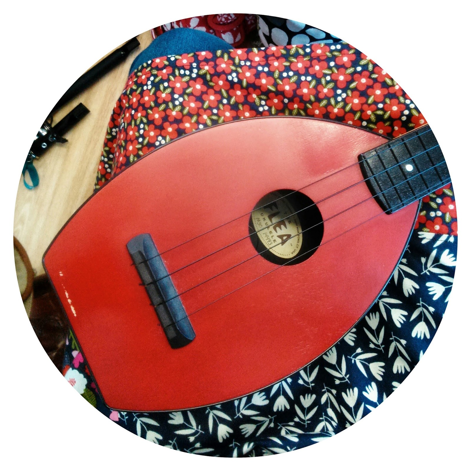 My ukulele at Wukulele February 2015