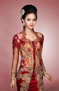 Model Gaun Kebaya Modern untuk Pesta