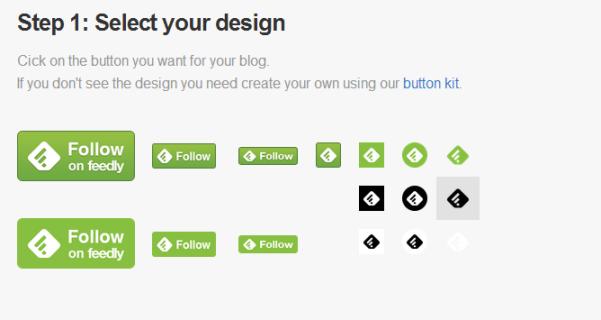 Paso 1: Seleccióna el diseño del botón.