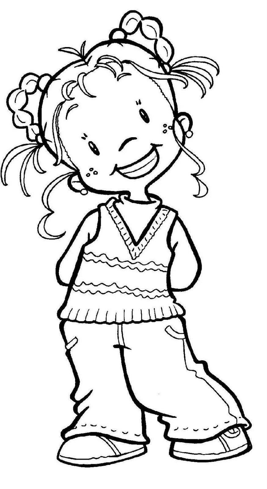 Dibujos de Niños para Colorear ~ Vida Blogger