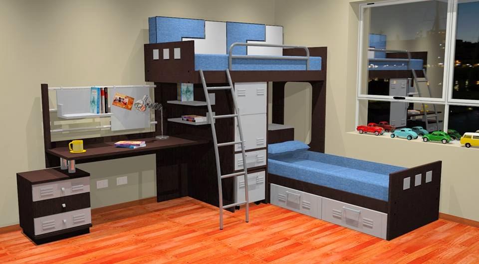 Muebles juveniles octubre 2013 for Amoblamientos juveniles
