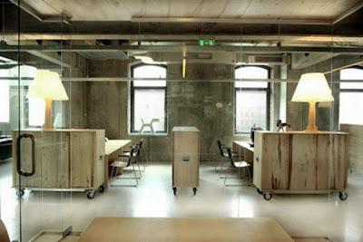 interior kantor modern-jejak masa lalu