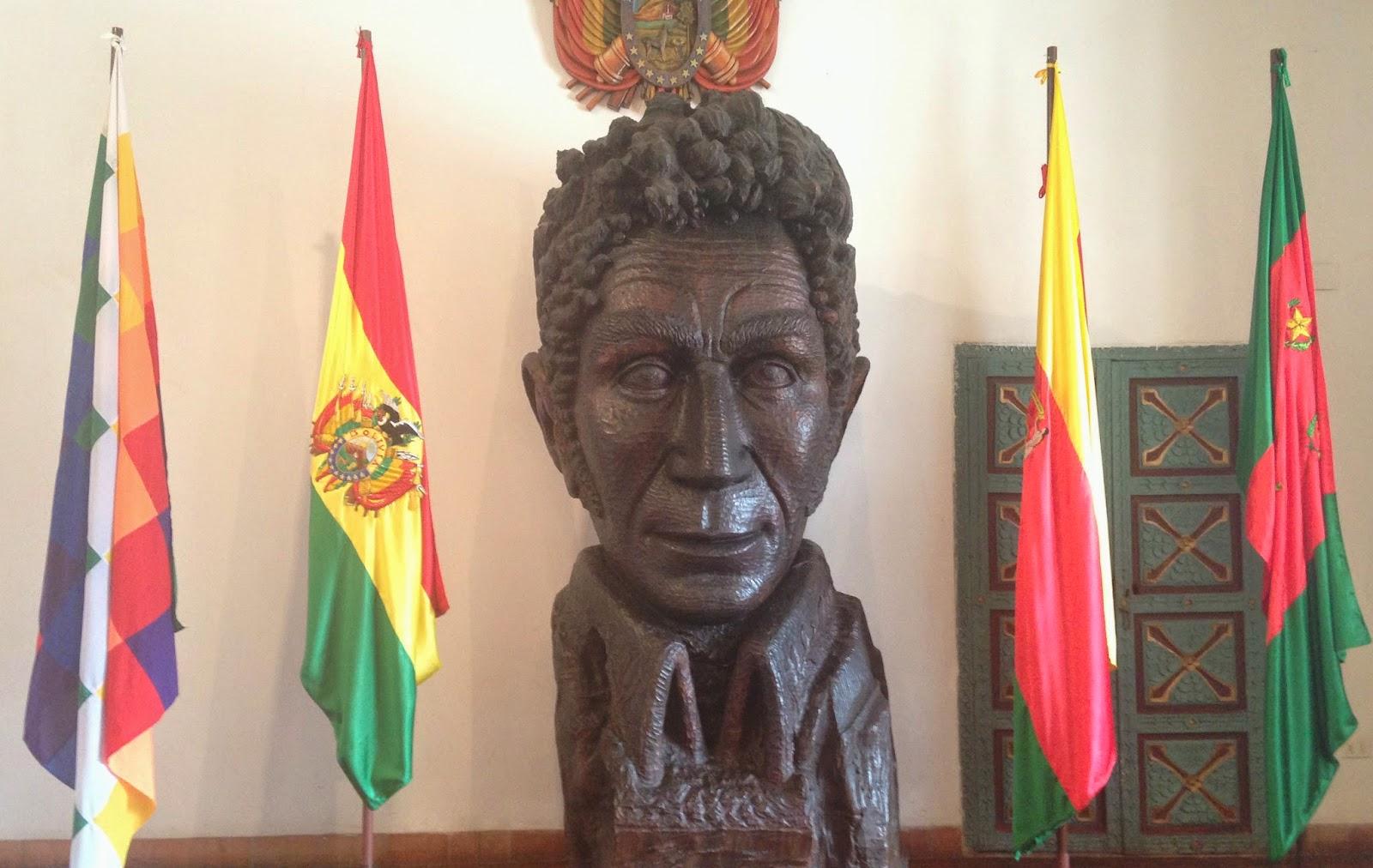 sucre libertad museo simon bolivar bolivia