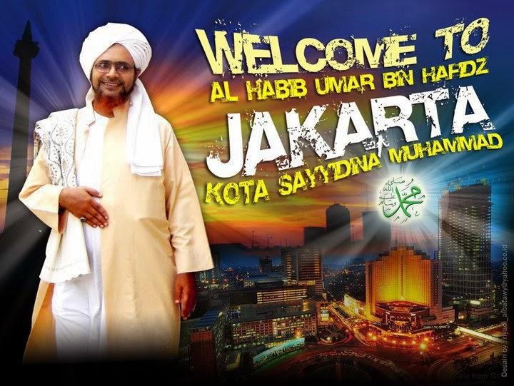 Jadwal Safari Dakwah Habib Umar bin Hafidz di Solo dan Kota Lainnya 2014