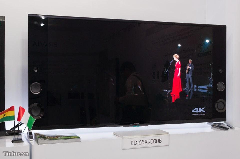 Sony giới thiệu Tivi BRAVIA 2014 tại Việt Nam