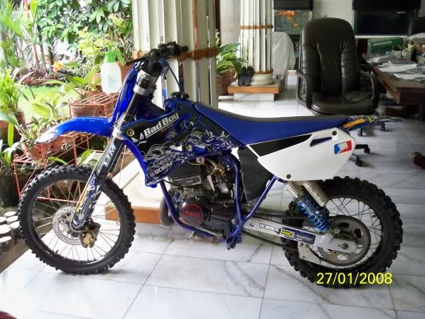 Honda GL-100 Supermoto From modifikasi motor, modified, motorcycle