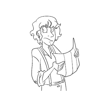 #7 Hobbit Coloring Page