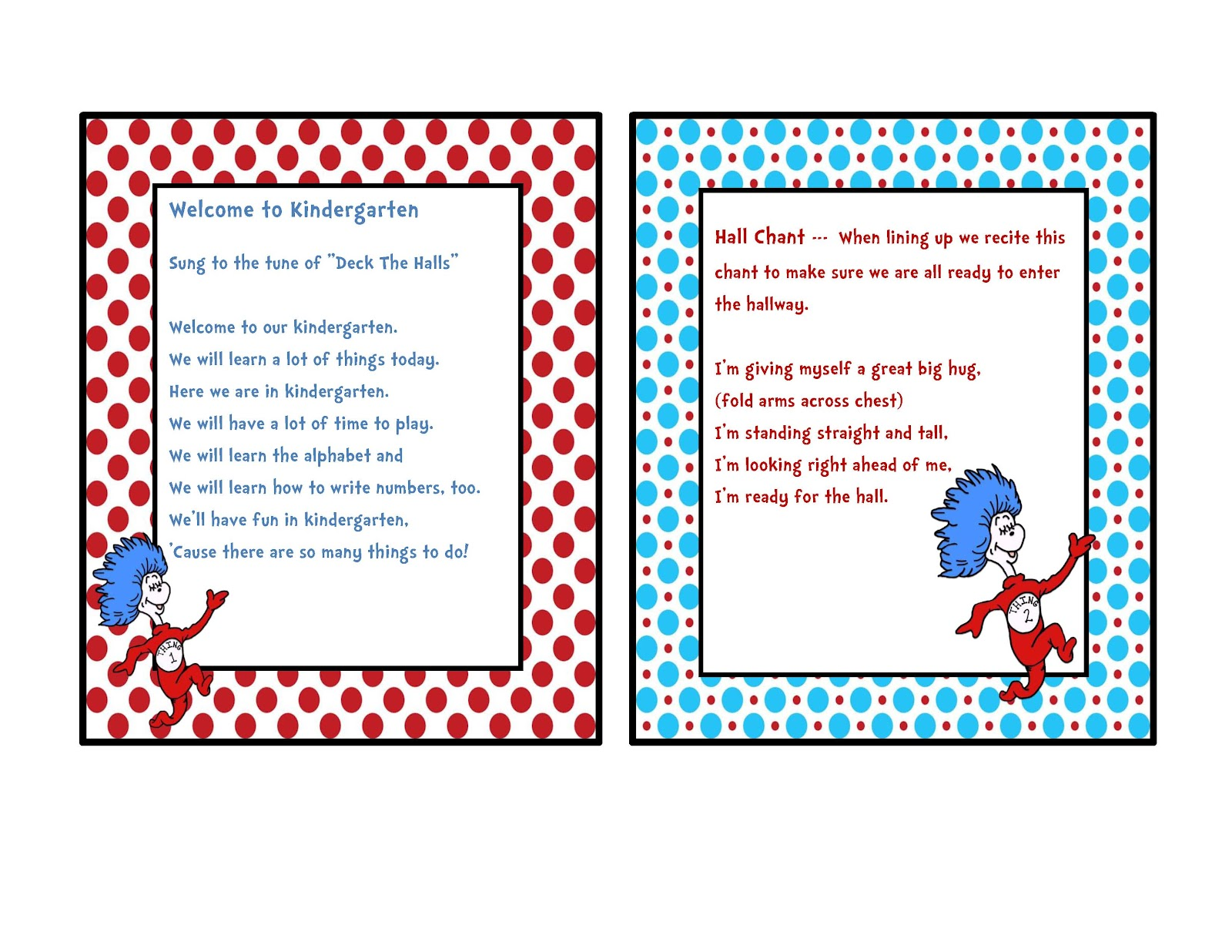 Dr Seuss Border Templates | Search Results | Calendar 2015