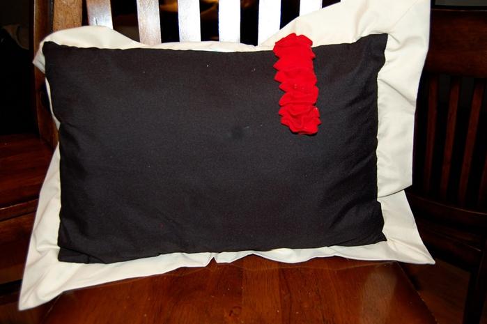 Рюши-оборки для подушек. Ruffles, frills for pillows