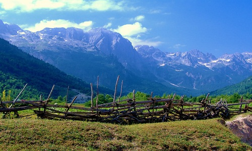 Abanian Alps Albnia Europe