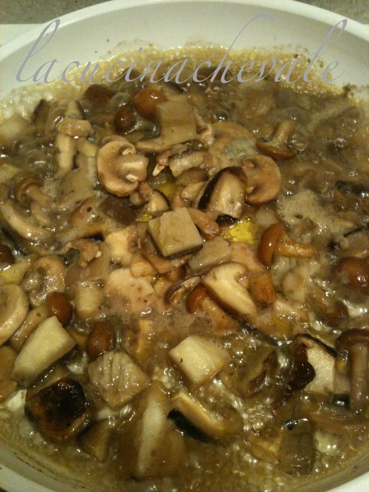 cuori di merluzzo scaloppati ai funghi | - Come Cucinare I Funghi Surgelati