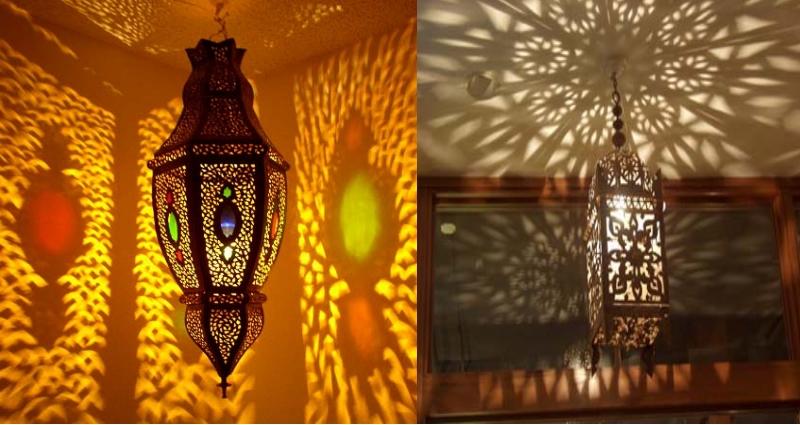 Morroccan lantern style