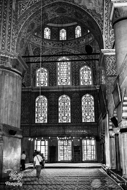 Inside The Blue Mosque - Y&Y Photography