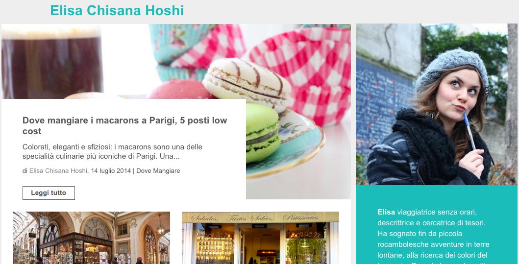 Elisa Chisana Hoshi travel blogger