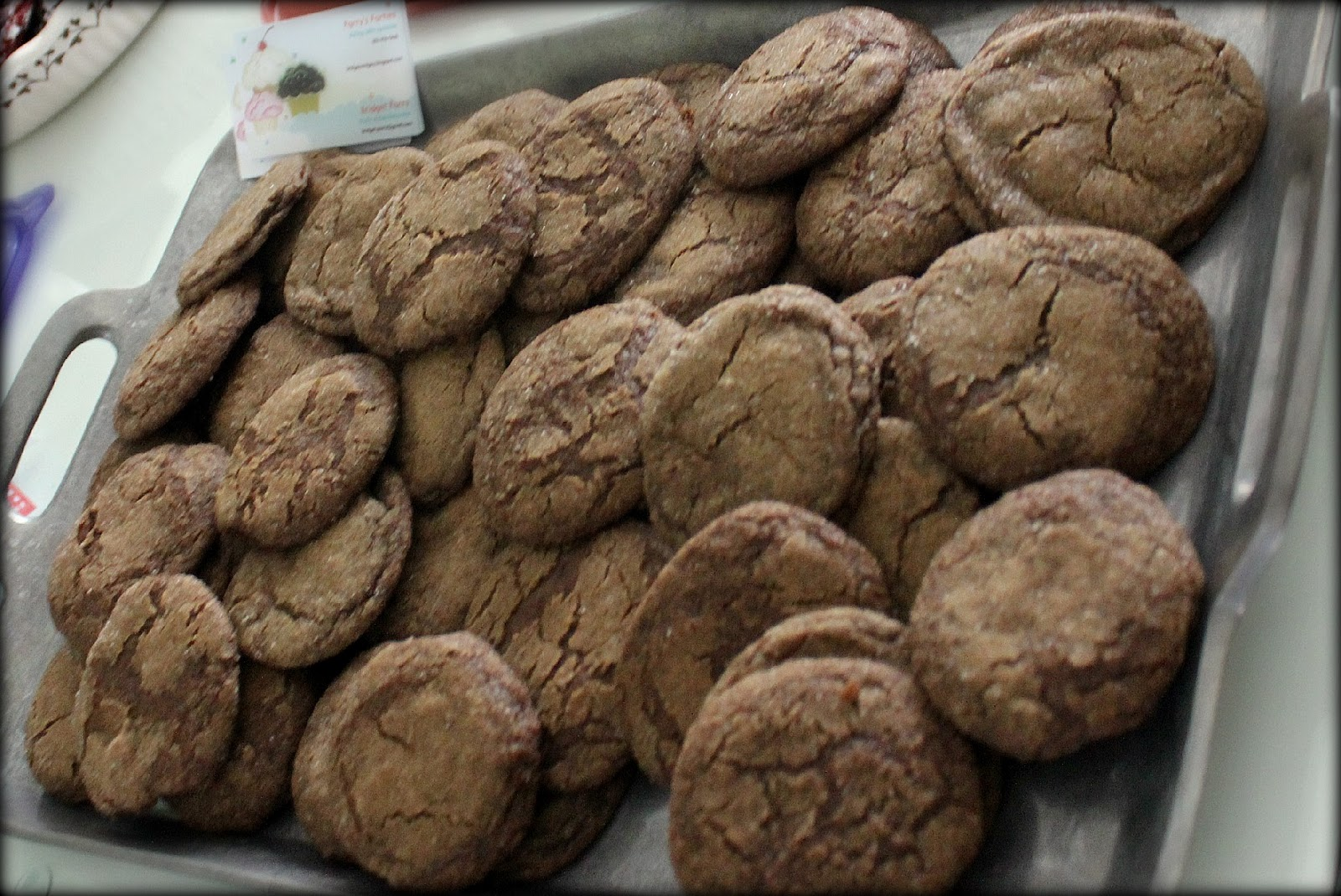 Bridgey Widgey: Chewy Gingersnap Cookies