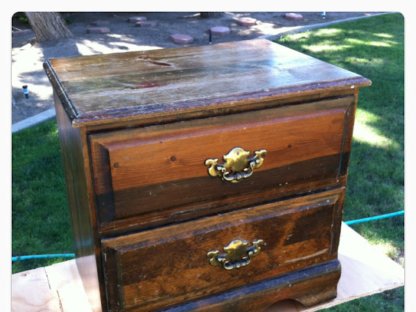 Relic to Fabulous: Refurbishing an Old Night Stand