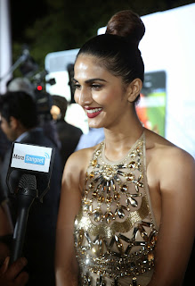 Vaani Kapoor looks stunning in skin colored Gown at IIFA Awards 2014 6