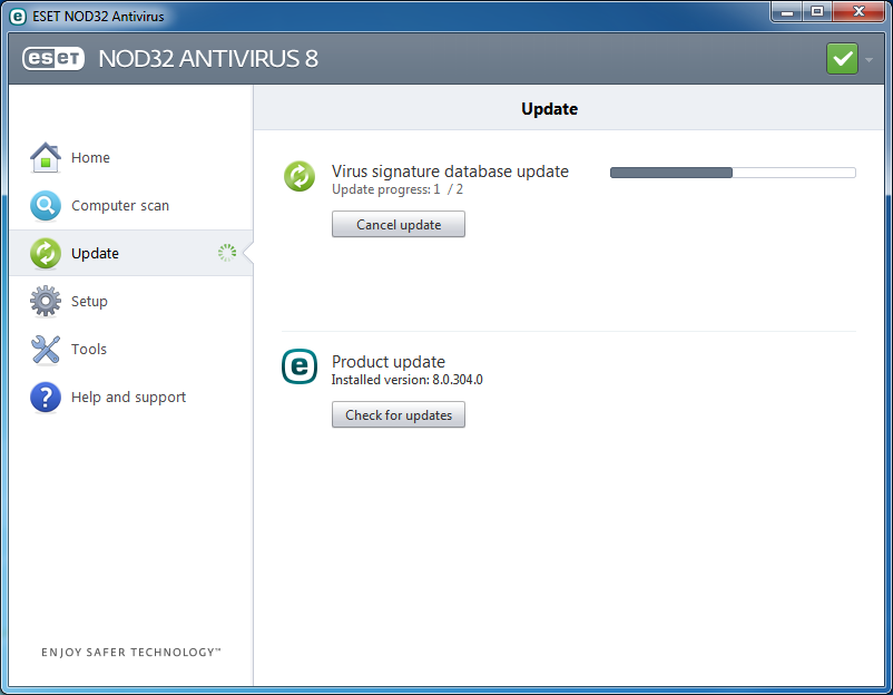 Eset Nod32 Antivirus 8 Offline Installer 32 dan 64 Bit Easy Crack
