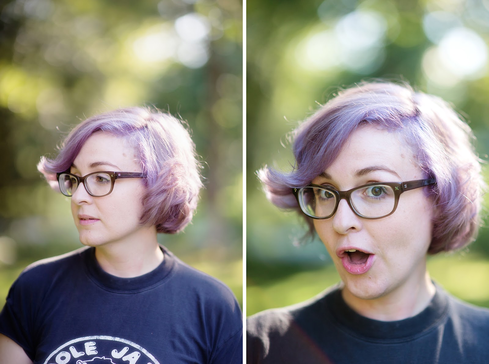 Purple Hair For Dayz - Little Lady Little City