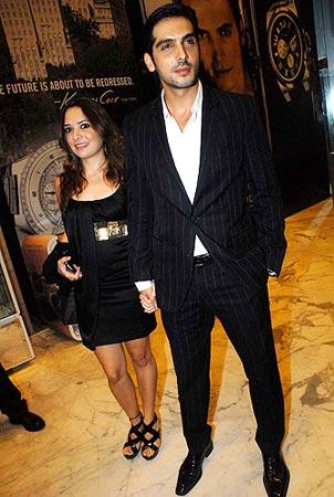 diya mirza and zayed khan dating