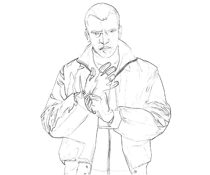 grand theft auto coloring pages coloring pages Classic Muscle Car Coloring Pages  Grand Theft Auto Coloring Pictures