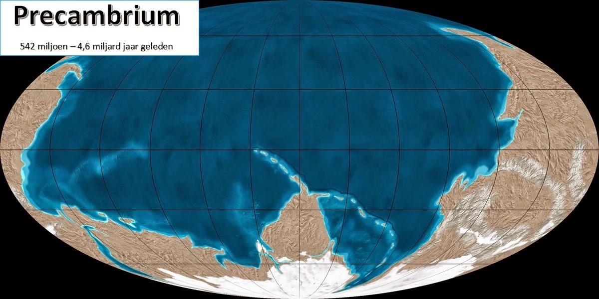 plaatje van 4 miljard jaar geleden