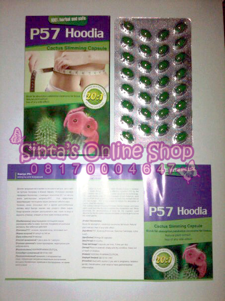 """Right Place to Shopping: P57 Hoodia Slimming """"PELANGSING ..."""