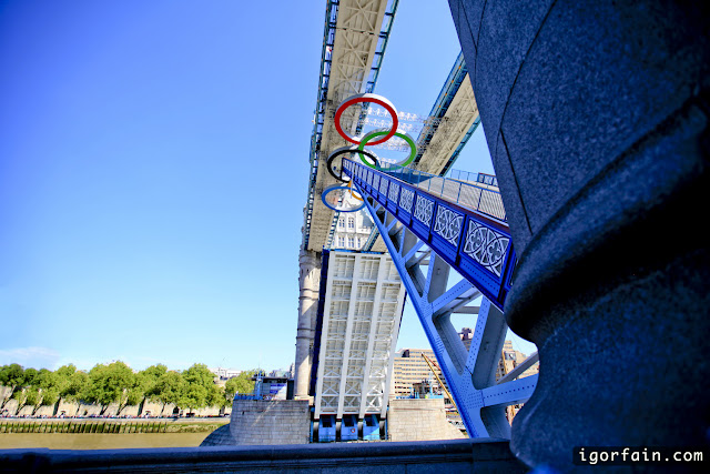 tower bridge london olympic games  opens opening
