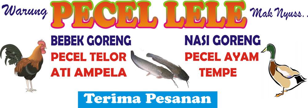 Gambar Vector Ratuseo Sinar House Spanduk Pecel Lele Desain Banner
