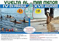 Vuelta al Mar Menor andando y en kayak