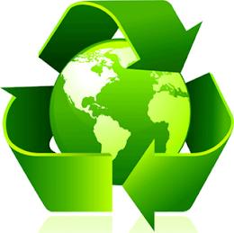 Reciclagem começa em casa.